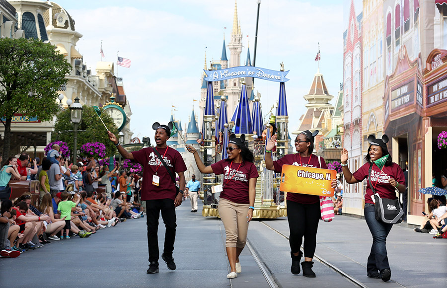 Walt Disney World Resort Welcomes Disney Dreamers Academy
